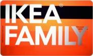 Дисконтная карта IKEA FAMILY / ИКЕА